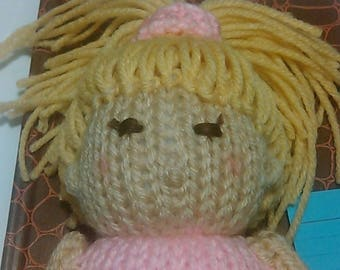 Knitted Pink Ballerina