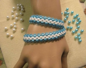 The Bluez Double Wrap Bracelet