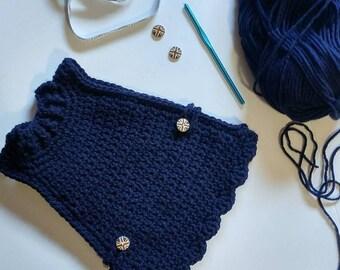 Crocheted Handmade Chicken Sweater - Chicken Sweater - Colourful Chicken Sweaters