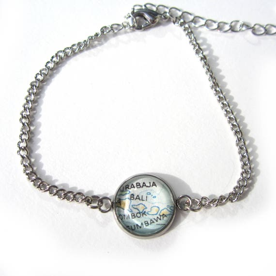 World map bracelet - Various