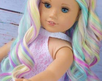 """11"""" Custom Doll Wig"""