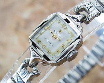 Seiko Rare 5510 Stainless Steel Manual 1950s Ladies Japanese Dress Watch NR25