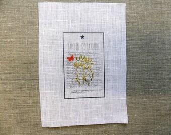 fabric sewing Botanical Garden