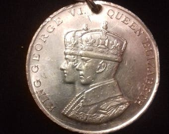 Medal to commemorate the coronation of King George VI and Queen Elizabeth 1937