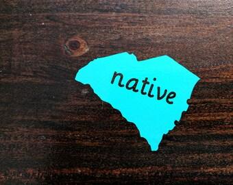 South Carolina Native Decal