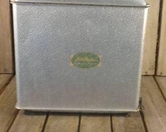 JC Higgins Cooler, Vintage Metal Cooler, Old Cooler, Ice Box, Ice Chest