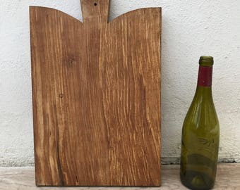 ANTIQUE VINTAGE FRENCH bread or chopping cutting board wood 10021814