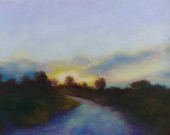 Original pastel painting, Genesis