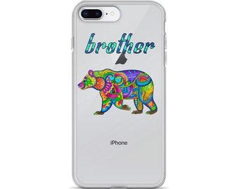 iPhone Plus Case bear phone case | iphone x |  iphone 7 plus |  iphone 8 plus | phone case | iphone 7 case | animal phone case