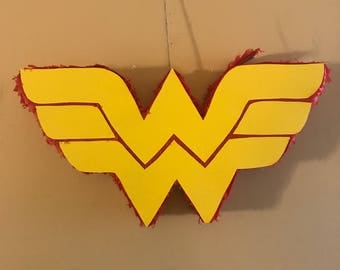 Wonder Woman Logo Pinata