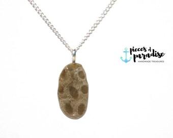 Petoskey Stone Necklace