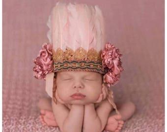 Boho head dress head bands
