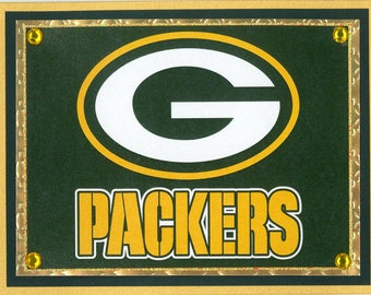 Green Bay Packers Birthday Card