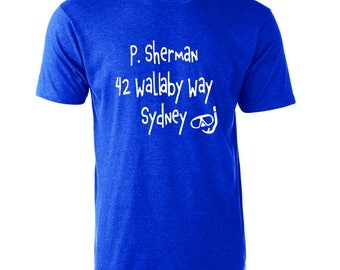 Disney's Finding Nemo Inspired P Sherman 42 Wallaby Way Sydney Graphic T-Shirt