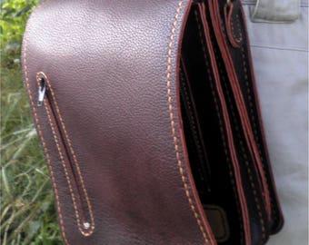 Мужская кожаная сумка / Men's leather bag
