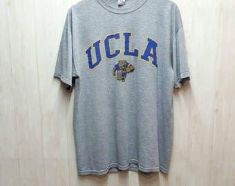 Vintage UCLA Bruins Basketball Excellent T Shirt Large Size