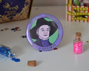 Professor McGonagall - 58mm - Badge