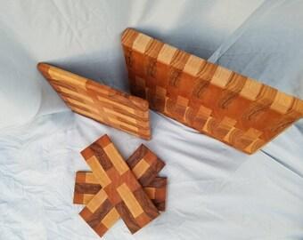 5 Piece Cutting Board Set