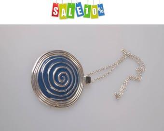 "Necklace ""Spiral"" 1980s"