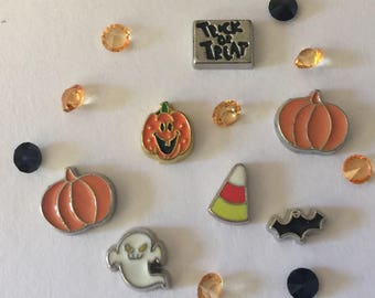Halloween Floating Charms