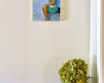 Acrylic Figure Painting ORIGINAL art wall decor