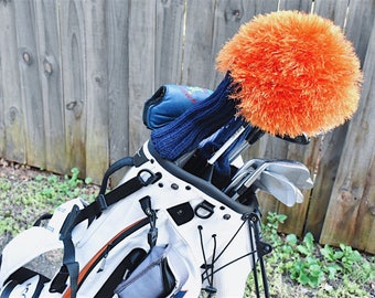 Knitted Golf Club Driver Head Cover
