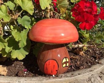 Garden Mushroom Fairy House