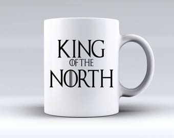 King of the North Game of Thrones Inspired 11oz MUG
