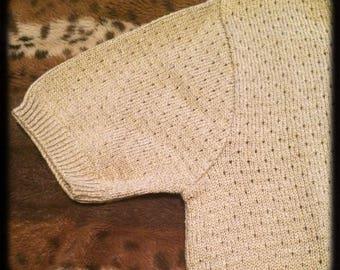 Vintage cotton  jumper