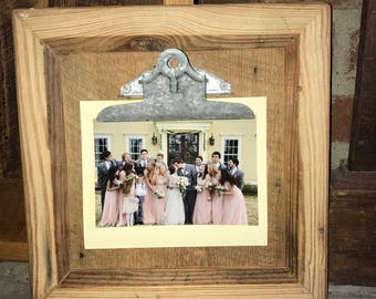 Wooden Picture Frame Clip