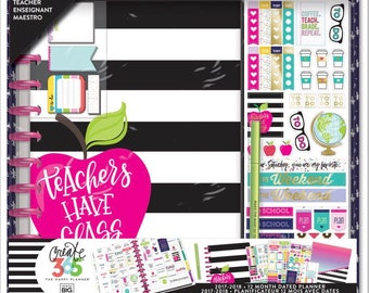 The Big Happy Planner Boxed Kit - Teacher's Edition - Teachrs Have Class