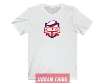 6 Nations Tshirt, Rugby Clothing, Sportswear, England, Wales, Scotland, Ireland, France, Italy, Streetwear, Sport, Urban Tribe™ UT001-01