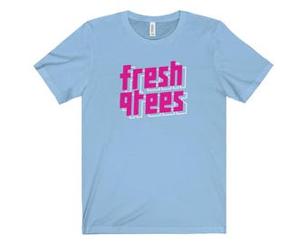 90S Hip Hop Fresh Clothing 002 Hip Hop Tshirt Retro Streetwear Hip Hop Fly Blazed Bling Dope Cool Swag