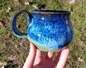 Cauldron Mug in Vivid Blu...