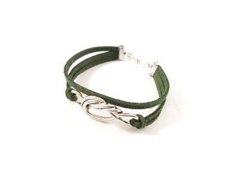 Green women bracelet