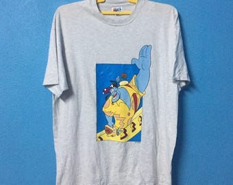 Rare!!vintage 90s the genie shirt made in usa size XL