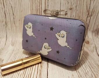 SALE. Small clutch bag, handbag, ghost, childrens, Halloween