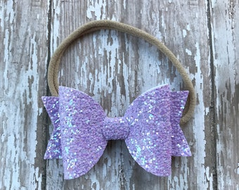 Glitter Bow Medium size 2.5 inches