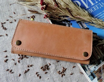 Women leather long slim wallet zipper pocket card holder coin purse card wallet purse travel minimalist zip pouch women purse phone case