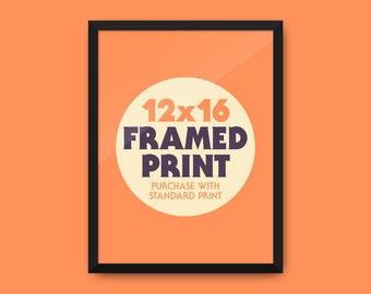 """Framed Print 12x16"""""""