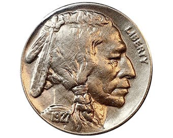 1927 S Buffalo Nickel - Choice BU / MS / UNC