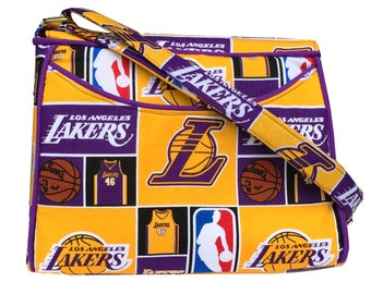 Los Angeles Lakers NBA Purse Crossbody