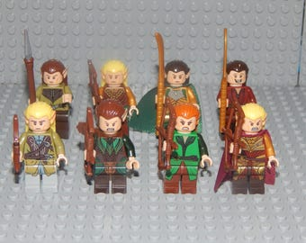 8 Miniature Characters Lord of the Rings, Hobbit, new