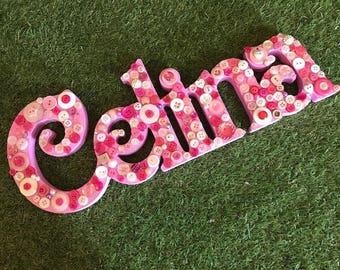 Freestanding Button Names - 4 letters