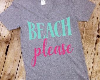 FREE SHIPPING! Beach Please