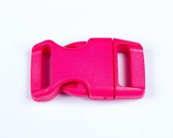 20 mm hot pink plastic clip