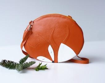 Sleeping Fox Bag Fox Purse