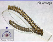 Tutorial Iris Omega, Anleitung Armband in deutsch, PDF - Download