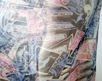 BIG SALE 100 silk organza fabric patterned 42inch photo print fashion fabric