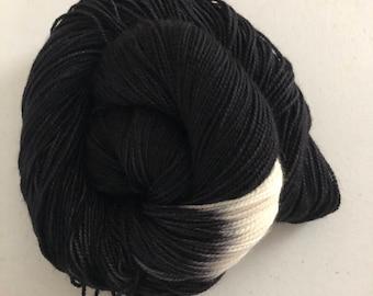 Space – Full Skein on Molly MCN Fingering – 400yds/100g – 80/10/10 SW Merino/Cashmere/Nylon